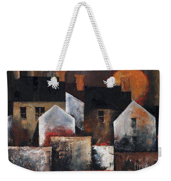 Gables Sunset Weekender Tote Bag