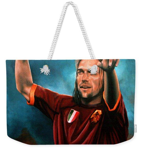 Gabriel Batistuta Weekender Tote Bag