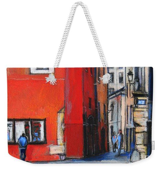 Gadagne Museum Facade In Lyon France Weekender Tote Bag