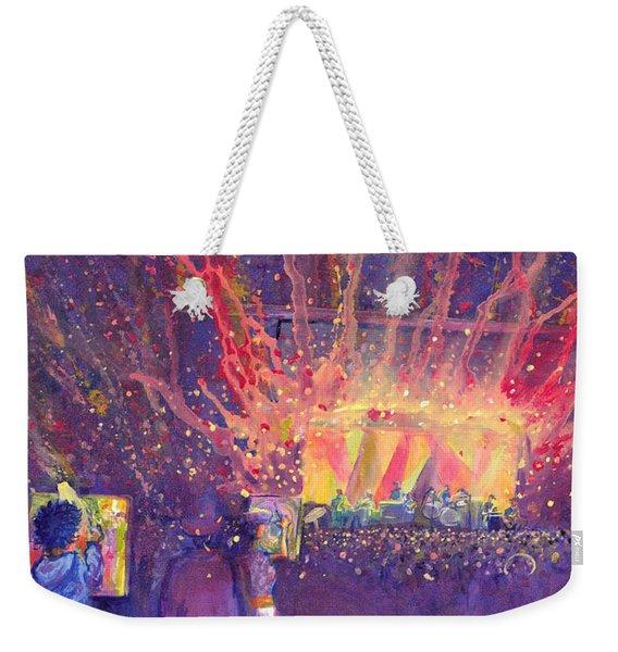 Galactic At Arise Music Festival Weekender Tote Bag