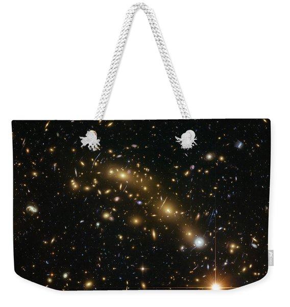 Galaxy Cluster Mcs J0416.1-2403 Weekender Tote Bag