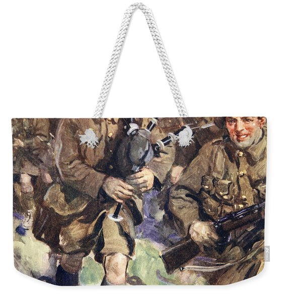 Gallant Piper Leading The Charge Weekender Tote Bag