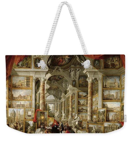 Gallery With Views Of Modern Rome Weekender Tote Bag
