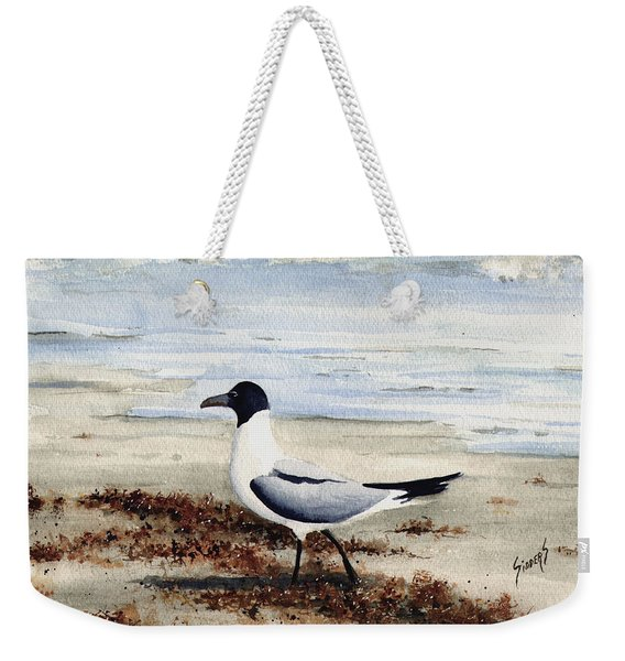 Galveston Gull Weekender Tote Bag