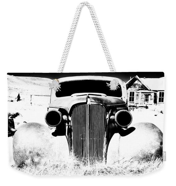 Gangster Car Weekender Tote Bag
