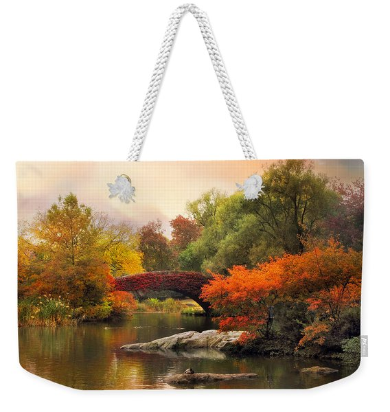 Gapstow At Twilight Weekender Tote Bag