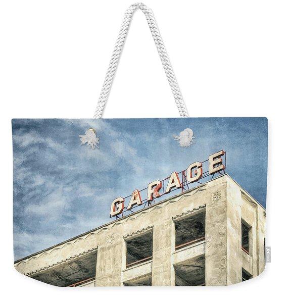 Garage Weekender Tote Bag