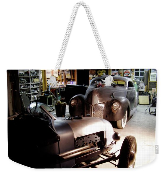 Garage Tour Weekender Tote Bag
