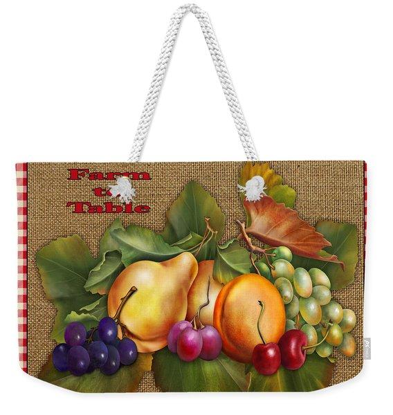 Garden Fresh-jp2386 Weekender Tote Bag