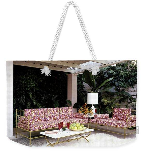 Garden-guest Room At The Chimneys Weekender Tote Bag