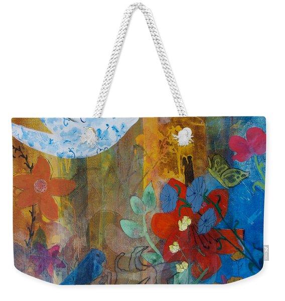 Garden Of Love Weekender Tote Bag
