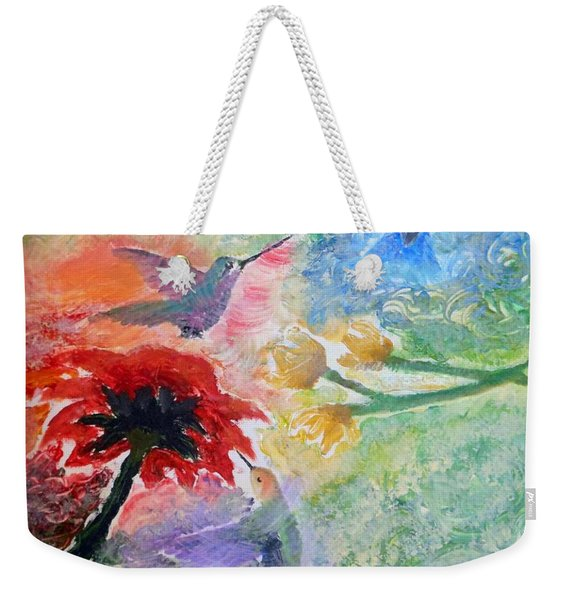 Garden Song Weekender Tote Bag