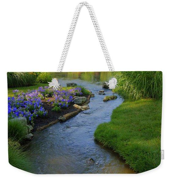 Garden Stream Hdr #9795 Weekender Tote Bag