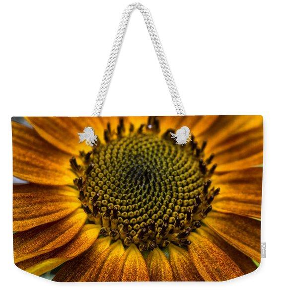 Garden Sunflower Weekender Tote Bag