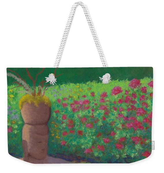 Garden Welcoming Weekender Tote Bag