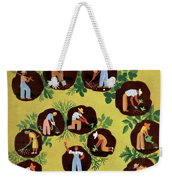 Gardeners And Farmers Weekender Tote Bag
