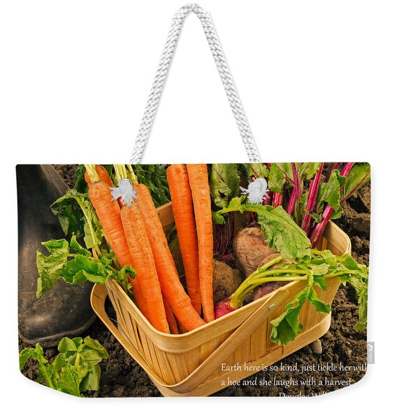Gardening Quote Weekender Tote Bag