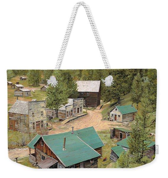 Garnet In Montana Weekender Tote Bag