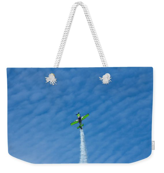 Gary Ward Taking His Mx2 To Great Heights Weekender Tote Bag