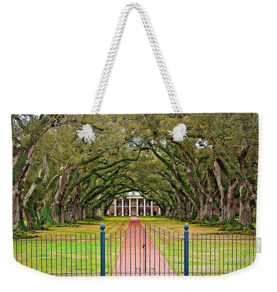 Gateway To The Old South Weekender Tote Bag
