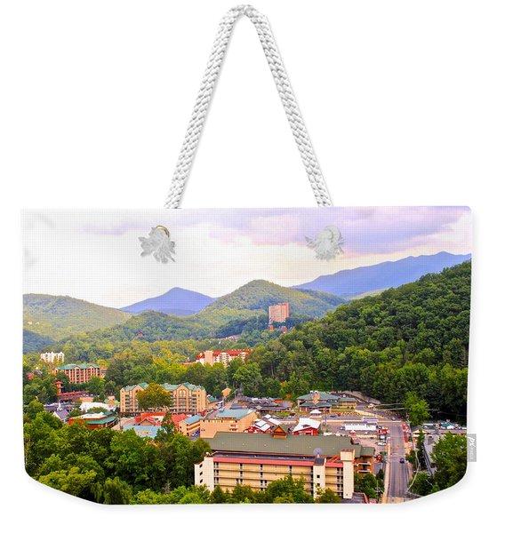 Gatlinburg Tennessee Weekender Tote Bag
