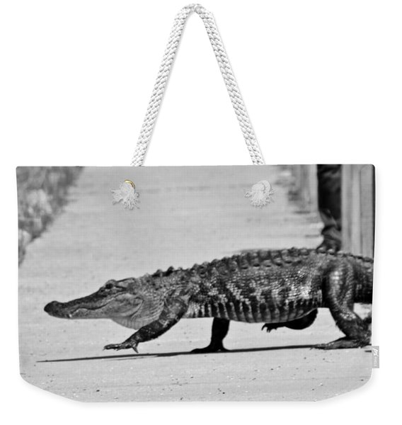 Gator Walking Weekender Tote Bag
