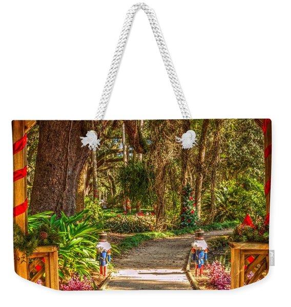 Gazebo Bells Weekender Tote Bag