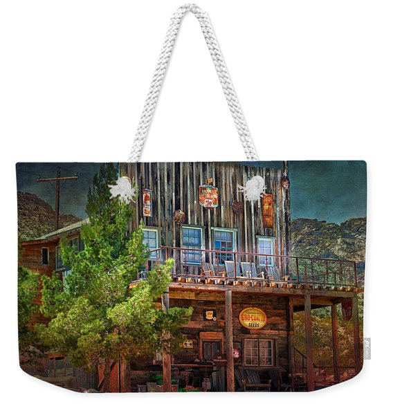 Weekender Tote Bag featuring the photograph General Store by Gunter Nezhoda
