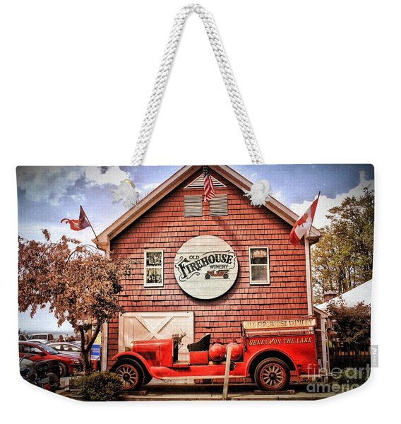 Geneva On The Lake Firehouse Weekender Tote Bag