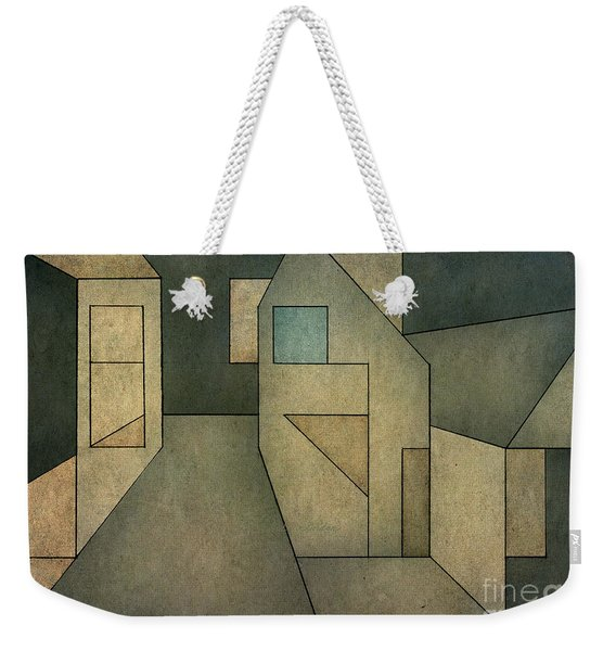 Geometric Abstraction II Weekender Tote Bag