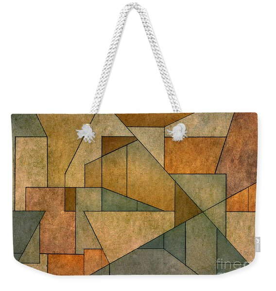Geometric Abstraction Iv Weekender Tote Bag