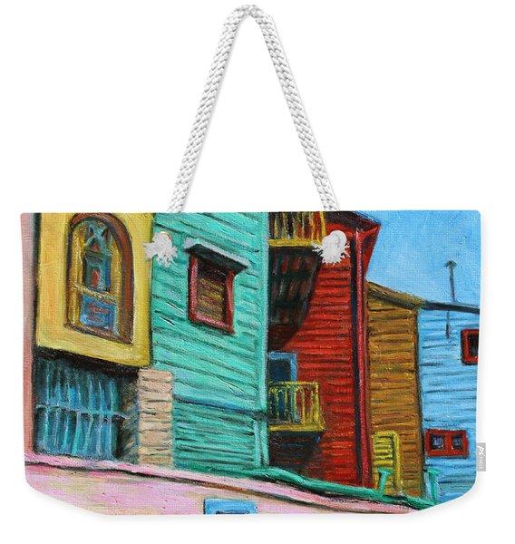 Geometric Colours II Weekender Tote Bag