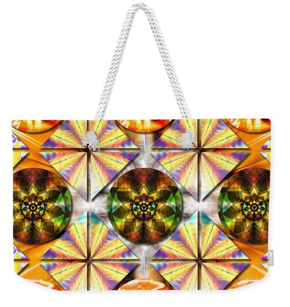 Geometric Dreamland Weekender Tote Bag