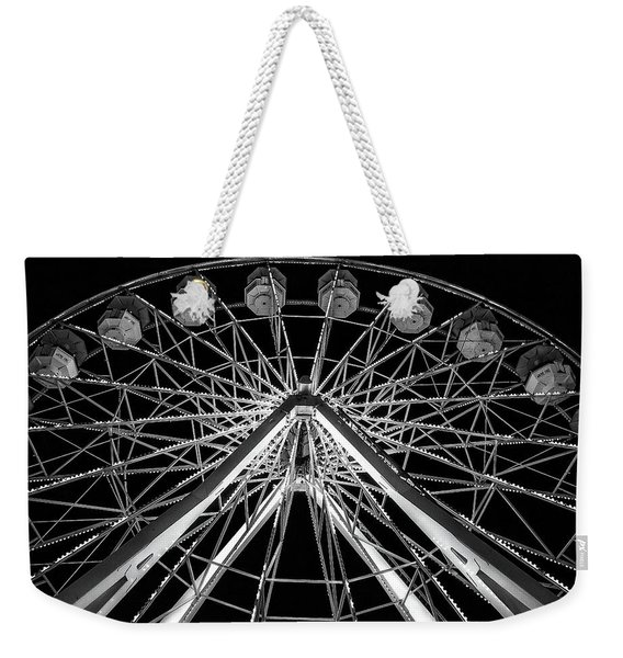 Geometric Web By Denise Dube Weekender Tote Bag