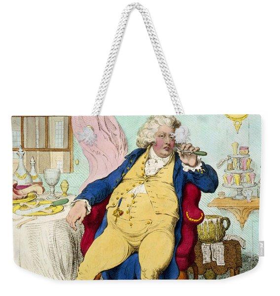 George Iv Weekender Tote Bag