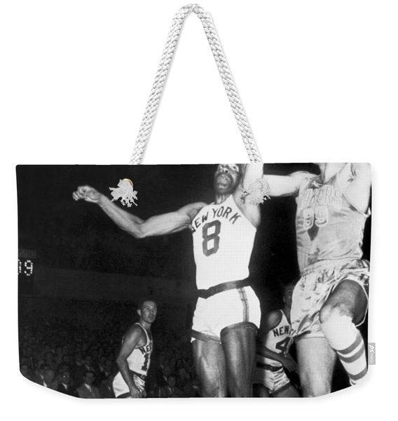 George Mikan Hook Shot Weekender Tote Bag