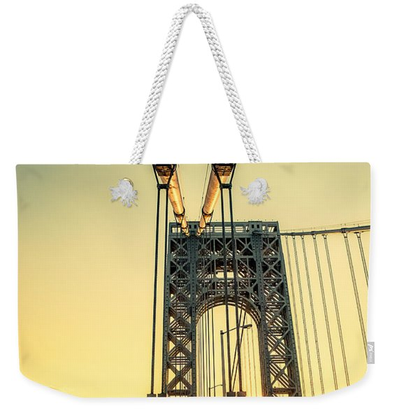 George Washington Sunset Weekender Tote Bag