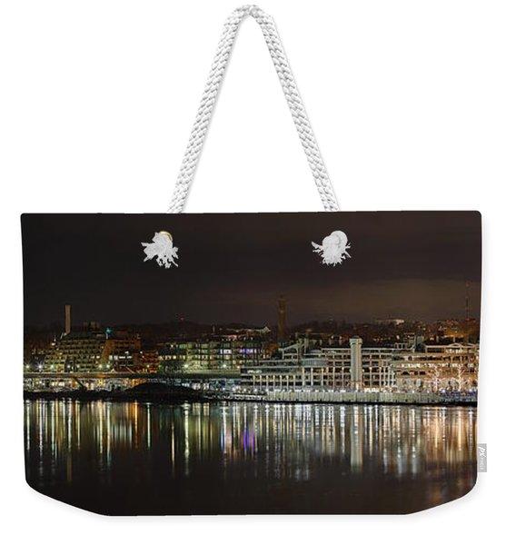 Georgetown Waterfront Weekender Tote Bag