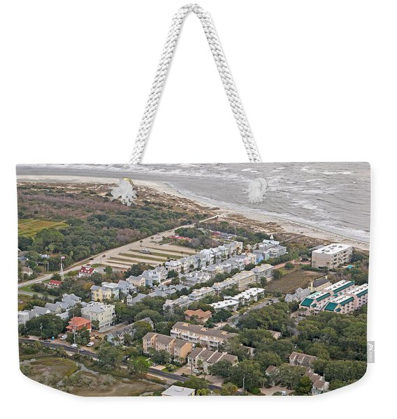 Georgia Coastline Weekender Tote Bag