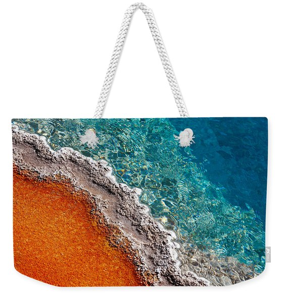 Geothermic Layers Weekender Tote Bag