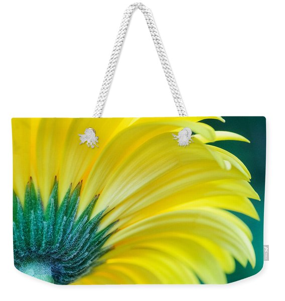 Weekender Tote Bag featuring the photograph Gerber Daisy by Garvin Hunter