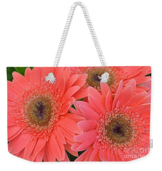 Gerbera Daisy  Gems Weekender Tote Bag