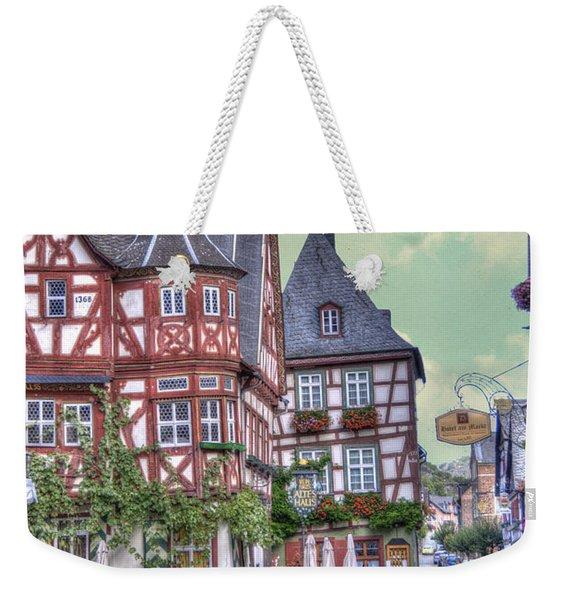 German Village Along Rhine River Weekender Tote Bag