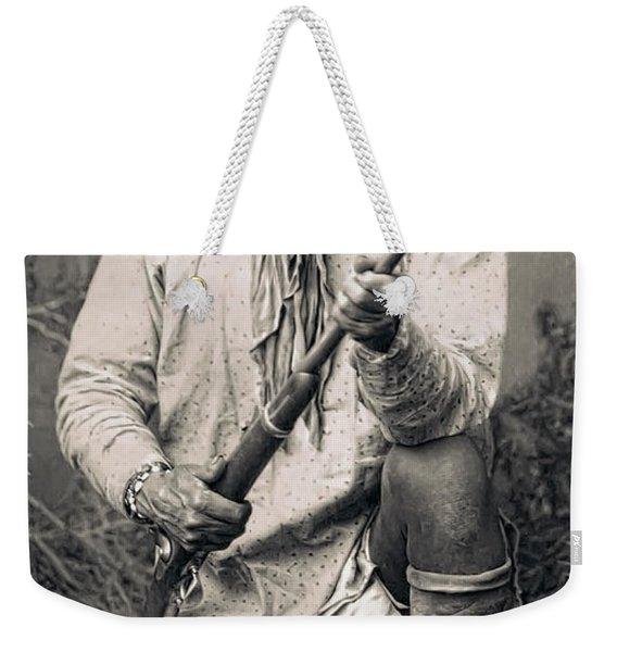 Geronimo - 1886 Weekender Tote Bag