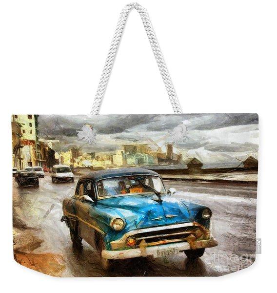 Get Outta My Dreams Get Into My Car Weekender Tote Bag