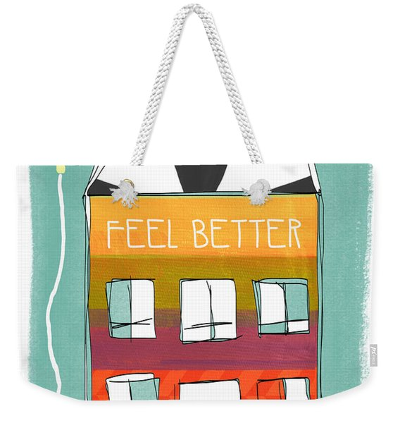 Get Well Card Weekender Tote Bag