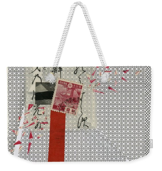 Getting The Word Out 1 Weekender Tote Bag
