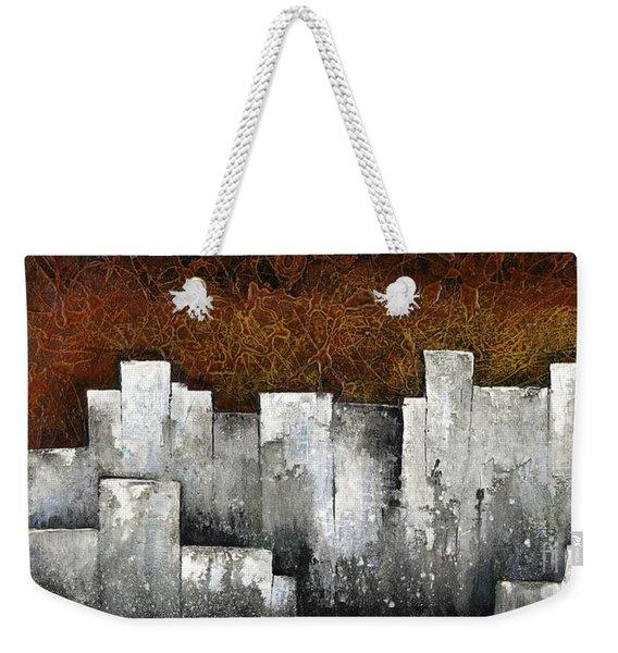Ghost City Weekender Tote Bag