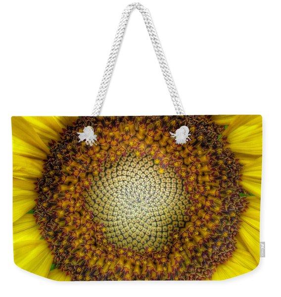 Ghost Sunflower Weekender Tote Bag