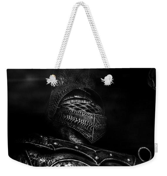 Ghostly Knight Weekender Tote Bag